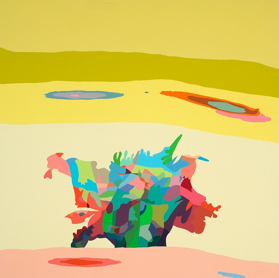 Beth Reisman ,   One Nation Under a Groove  ,  2009     Acrylic on panel ,  34 x 34 in. (86.4 x 86.4 cm)     REI-014-PA
